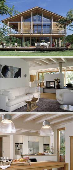 Regnauer Haus Bayrisch Gmain house Pinterest House - holz decke haus design bilder