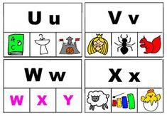 Pro Šíšu: Začáteční písmena - kolíčky Playing Cards, Montessori, Playing Card Games, Game Cards, Playing Card