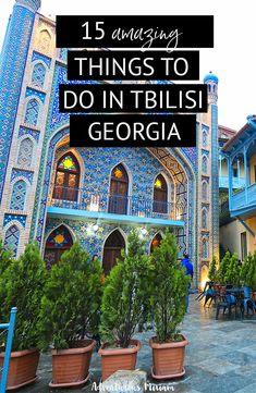 Wondering what to do in Tbilisi, Georgia (Caucasus)? To make sure you don't miss any cool activities, have a look at the best things to do in Tbilisi, Georgia. From eating khinkalis and the world's best comfort food to the Narikala Fortress and the modern Peace Bridge. Find fun activities and a guide to where to stay in Tbilisi. #tbilisi #georgia #caucasus Europe Travel Tips, Asia Travel, Travel Guides, Travel Destinations, Stuff To Do, Things To Do, Georgie, Vacation Spots, Where To Go