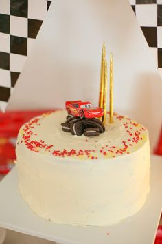 Recipe Chicken Fried Rice - How to Cook Chicken Fried Rice A Pixar Cars Third Birthday Party - Lightning Mcqueen Cake. Lightning Mcqueen Birthday Cake, Lightning Mcqueen Cake, Lightening Mcqueen, Pixar Cars Birthday, Cars Birthday Parties, 2 Birthday Cake, Third Birthday, Birthday Boys, Birthday Ideas