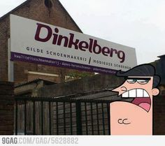omg.. it;s sad i know what this is.....Dinkleberg....