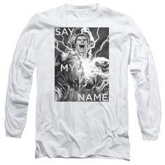 JLA/SAY MY NAME-L/S ADULT 18/1-WHITE