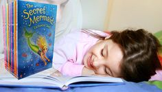 The Secret Mermaid 12-Book Collection Kids' book shelves are incomplete without The Secret Mermaid 12-Book Collection      Stars a girl called Molly who discovers she can turn into a mermaid at night      12 unique tales of Molly and her adventures      Playful tales of sea creatures such as whales, seahorses and turtles      Helps to teach children to love reading      Ideal for any mini...