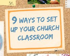 Are you looking for something different for your classroom? Maybe you need  to create a more reverent atmosphere. Try setting up your classroom in one  of these 9 ways.