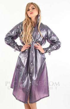 Vinyl Raincoat, Pvc Raincoat, Plastic Raincoat, Pvc U Like, Imper Pvc, Pvc Coat, Rain Wear, Older Women, Images