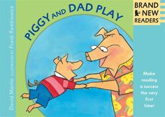 Piggy and Dad Play, by David Martin. #commoncore Big Books meet our Brand New Readers for the very first time, with short, funny stories by top authors and illustrators. What better way to share the joy of beginning to read? Big Book 9780763644550 Ages 4-7