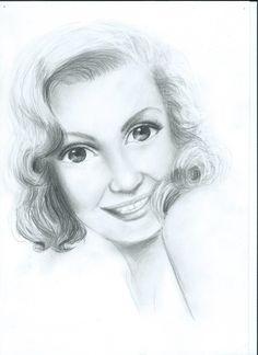 Marilyn Monroe by onlyeighteen on DeviantArt Marilyn Monroe Art, Sculptures, Deviantart, Portrait, Drawings, Painting, Painting Art, Sculpting, Portrait Illustration