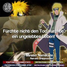 #MinatoNamikaze #Naruto #AnimeZitate Naruto Quotes, Kakashi, Boruto, Movie Posters, Movies, Age Difference, Anime Shows, Anime Figures, Death