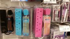 Pink and blue extension outlets, from @ Day_Jess.