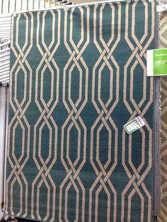 This rug will look fantastic in a nursery or living room