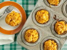 Macaroni and Three Cheese Lunch Muffins
