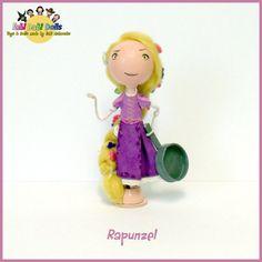 Rapunzel  tangled peg doll from fabi Dabi Dolls by totallyfabi