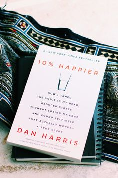 Book Club Discussion, 10% Happier Pt. 3: Expectation + Outcome // BLDG 25 Blog