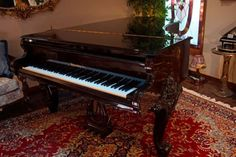 in-Texas-BOSENDORFER-Model-225-BAROQUE-74-Semi-Concert-Grand-Piano