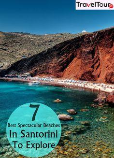 7 Best Spectacular Beaches In Santorini To Explore