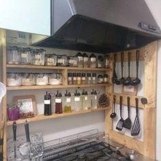 Diy Interior, Kitchen Interior, Room Interior, Interior Design Living Room, Open Kitchen Cabinets, Small Kitchen Appliances, Cool Kitchens, Rustic Kitchen, Kitchen Decor