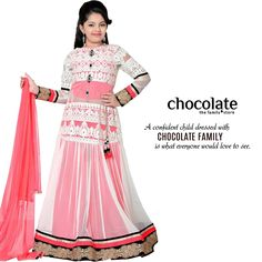 A confident child dressed with chocolate family is what everyone would love to see  www.chocolatefamily.com #KidsWear