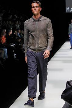 Giorgio Armani Spring 2018 Menswear Fashion Show Collection