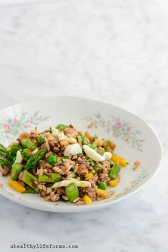 Spring Rice Salad is a fresh tangy and light recipe.  The perfect salad to enjoy all spring and summer. Gluten Free and Dairy Free - A Healthy Life For Me