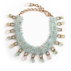 Aquamarine Chocker Necklace