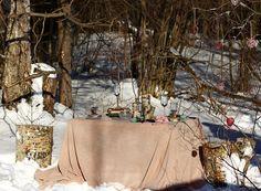 свадебная фотосессия зимой #wedding #winter #decor