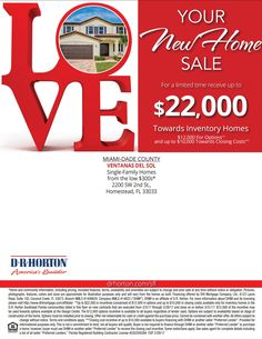 Get an amazing $22k incentives at Ventanas Del Sol in #Homestead till end of Feb. http://pre-constructionhomes.com/Miami-Dade-County/Homestead/Ventanas-Del-Sol