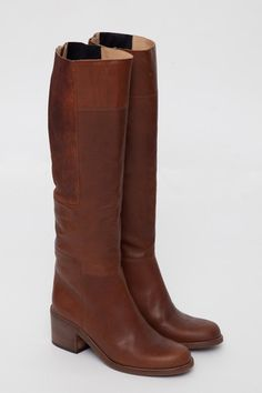 The Burnt Lost Knee-High Boot  by LD Tuttle