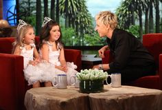 Sophia and Rose are wonderful! Especially when Ellen is so much their friend and lets the girls shine