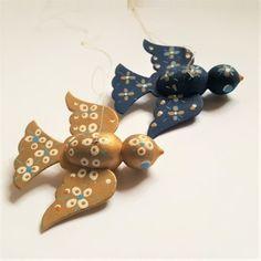 Eigenbrod birds. #eigenbrod. #tilsalg #forsale on www.TRENDYenser.com. The golden bird is sold.