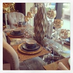 @christys_beauties captured a stunning table display at one of our stores.