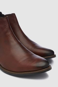 Shop for Premium Leather Chelsea Boots at Next New Zealand. Buy now! Gentleman's Wardrobe, Holiday Shoes, Leather Chelsea Boots, Buy Now, Brown, Heels, Stuff To Buy, Style, Fashion