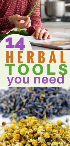 14 HERBAL TOOLS you need to try!