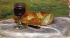 Glass of Wine - Pierre-Auguste Renoir