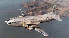 U.S. Air Force C-124A Globemaster cargo aircraft
