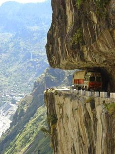 http://BlueChipMoney.com - The Karakoram #Highway #KKH - The highest paved international #road in the world. It connects #China and #Pakistan across the #Karakoram #mountain range, through the #Khunjerab Pass, located at 36°51′00″N 75°25′40″E, at an elevation of 4,693 metres (15,397 ft). #Incredible indeed.*