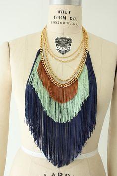 Maximum Fringe Necklace #necklace #jewelry