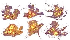 It's not a spiderman episode without at least 20 explosions of some kind so I'm learning to draw those.