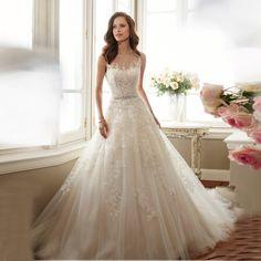 3f180b436e Ladies wedding dress 2017 new spring and summer Korean simple wedding bride  married Qi field was