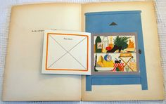 from Jimmy Has Lost His Cap, Where Can It Be? by Bruno Munari, 1945 via Vintage Kids' Books My Kid Loves
