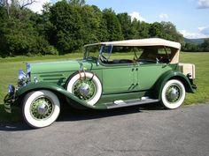 1930 Franklin Series 145 Pursuit Automobile Company