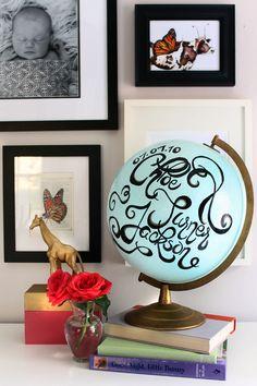 a DIY Globe