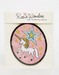 Image 1 ofRosie Wonders Unicorn Sew On Patch