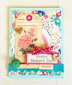 deb duty {photography + scrapbooking}: happy mothers day card