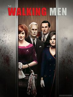 walking dead and mad men