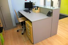 DIY: Building a reception desk! - Something on Everything