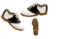 Saddle Shoes & Loafers were the thing..