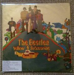 Monoral Yellow Submarine UK first pressing