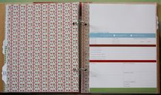 FREEBIE ALERT: MY CHRISTMAS PLANNER Christmas gift organizer - I printed a couple of pages out from the free PDF