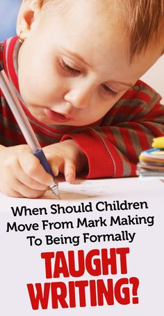 When Should Children Move From Mark Making To Being Formally Taught Writing? Foundation Stage, Teaching Writing, Eyfs, Mark Making, Pre School, Activities, Children, Ideas, Young Children