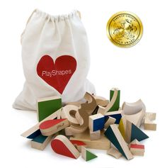 Image of Jeu en bois design Playshapes *Miller Goodman